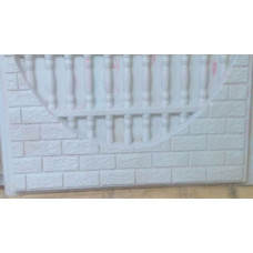 Brick Bowpicket Walling Mould