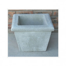 Small Square Pot Mould: Castable