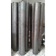Hollow Column Moulds without Hinges